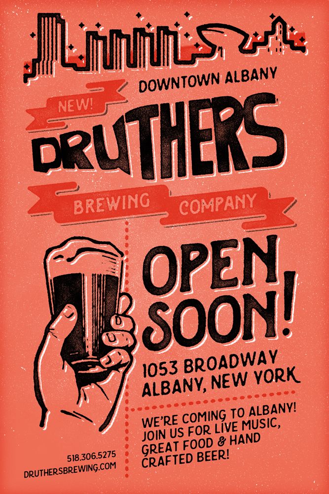 Druthers Albany flyer