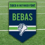 Football Bebas Trampoline Retired Fonts