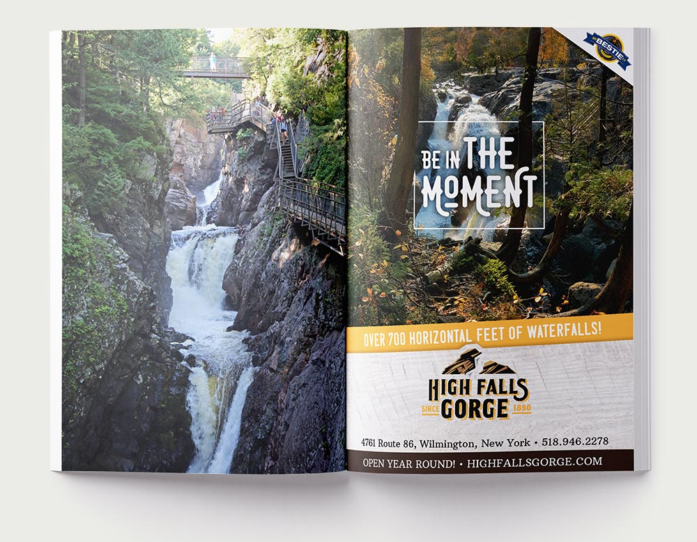 High Falls Gorge Ad