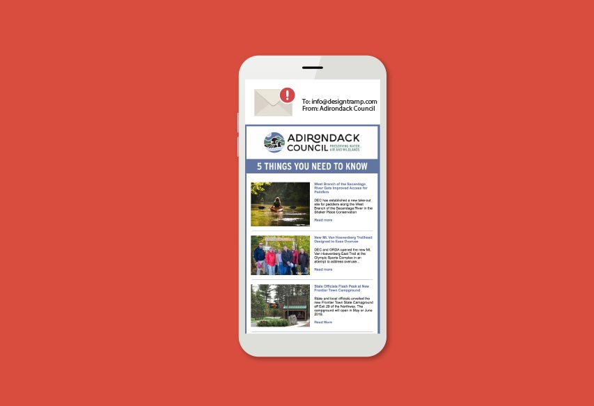 ADK Counci Annual Report on iPhone