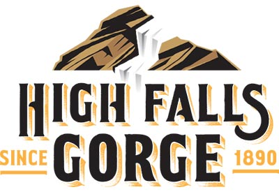 High Falls Gorge logo