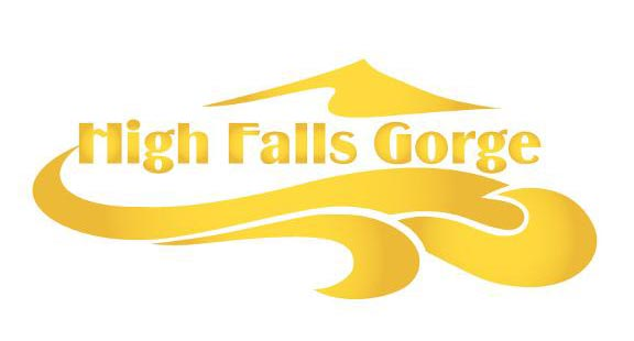 High Falls Gorge Old Logo