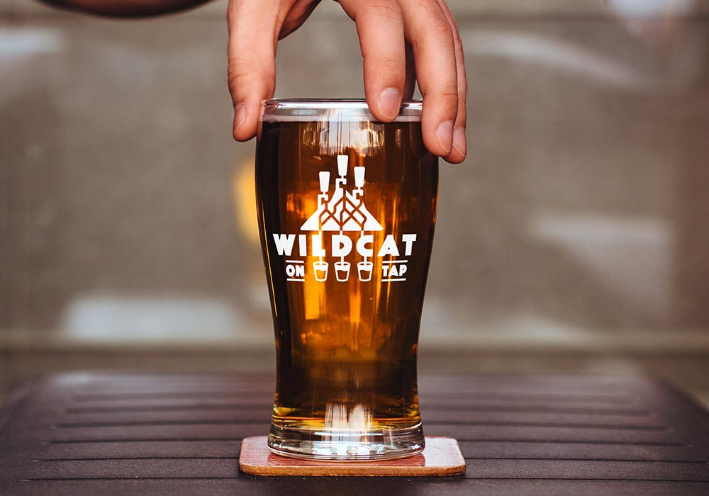 Wildcat Mountain Pint Glass