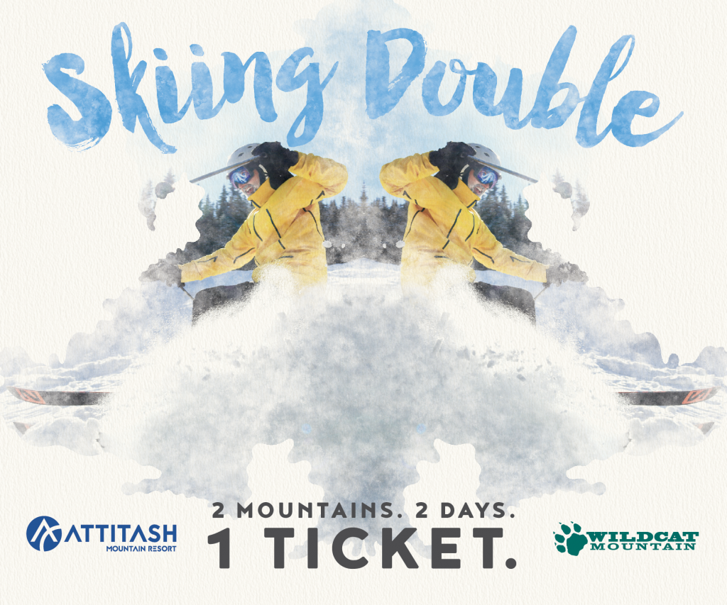 Ad for Ski tickets