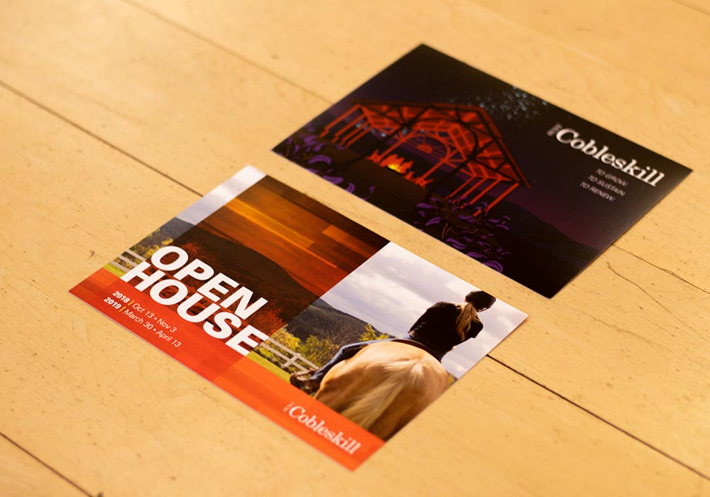 SUNY Cobleskill Open House Post Card