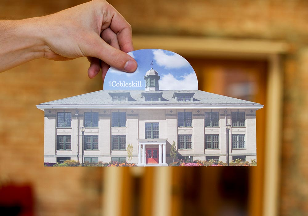 SUNY Cobleskill Building Print Collateral