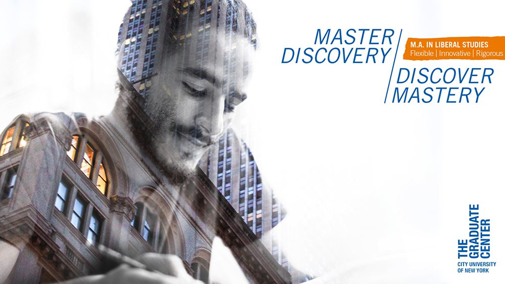 The Graduate Center Master Discovery Ad