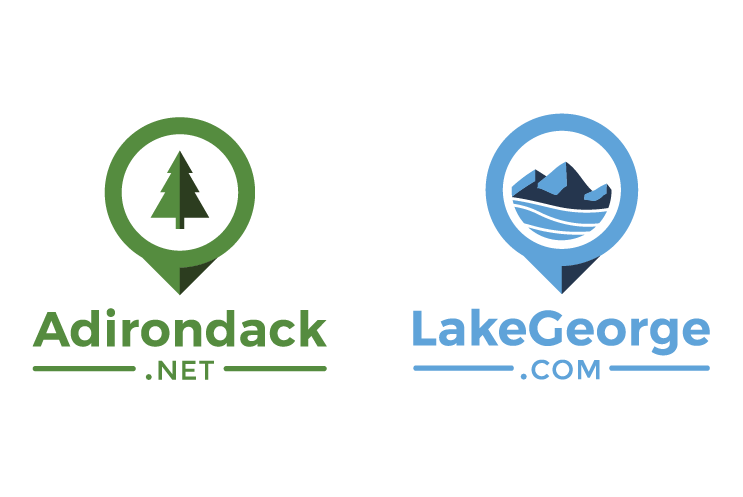 Adirondack.net and Lakegeorge.com logos