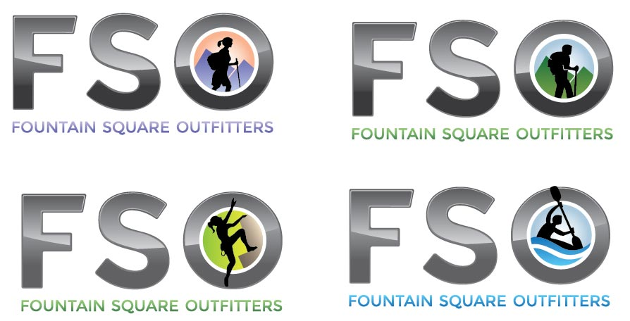Fountain Square Outfitters logos