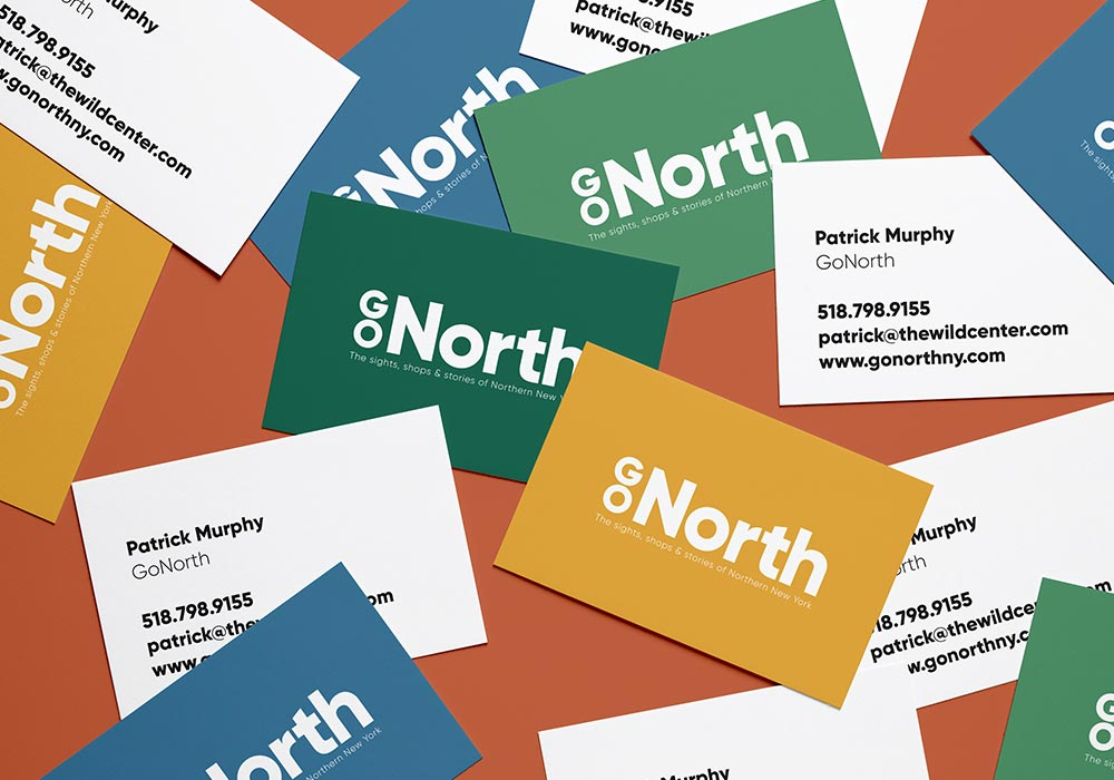 Go North Business Cards