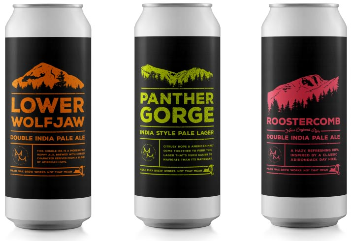 Mean Max Beer Can designs