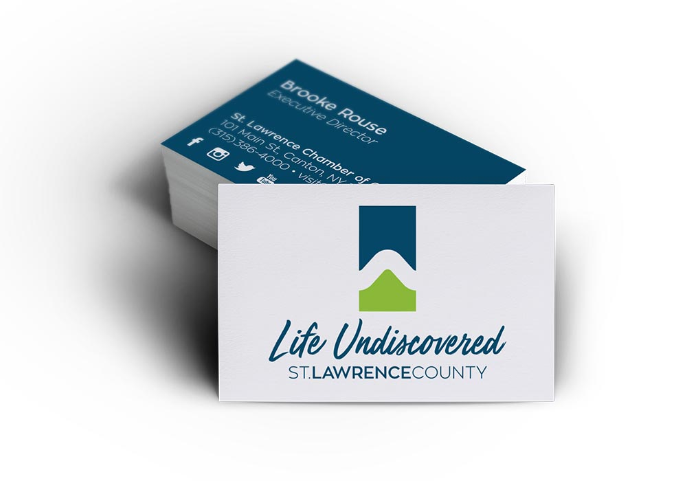 St Lawrence County Business Cards