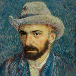 "John Coleman as ""Self-Portrait with Grey Felt Hat,"" Vincent van Gogh"