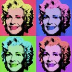 "Paula Slayton as ""Marilyn Monroe,"" Andy Warhol"