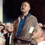 "Taylor as ""Freedom of Speech,"" Norman Rockwell"