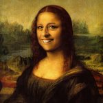 "Terese as ""Mona Lisa,"" Leonardo da Vinci"